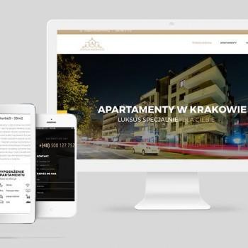 Strona internetowa dla www.atrium-apartments.pl