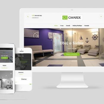 Strona internetowa dla Medi SPA Gwarek