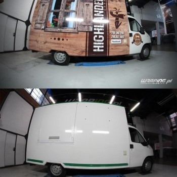 oklejanie Food Trucka