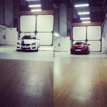 Zmiana koloru BMW M6
