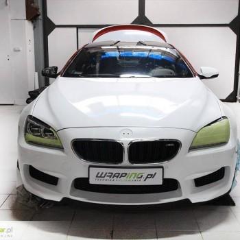 Zmiana koloru - Avery Dennison - BMW M6 Hamman