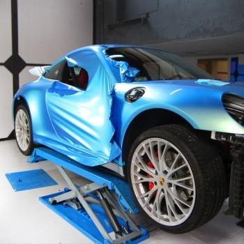 zmiana koloru Porsche
