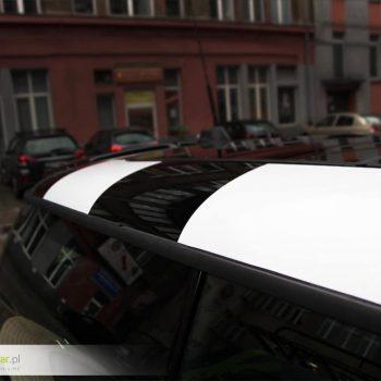 Oklejanie samochodów sportowych minicooper