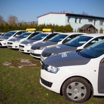 Oklejanie floty samochodów dla grupy ochroniarskiej Komes