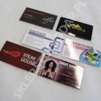 Drukarnia wizytówek - wizytówki foliowane