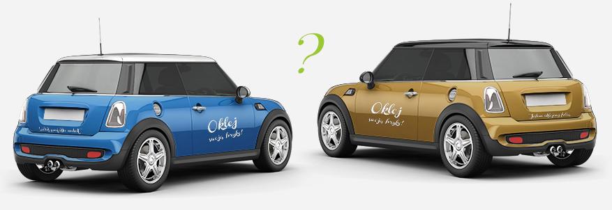 Zmiana koloru auta Bielsko