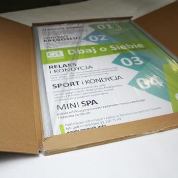 plakaty i ramki spakowane dla klienta