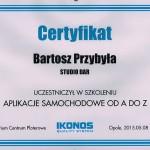 certyfikat szkolenie z oklejania -ikonos