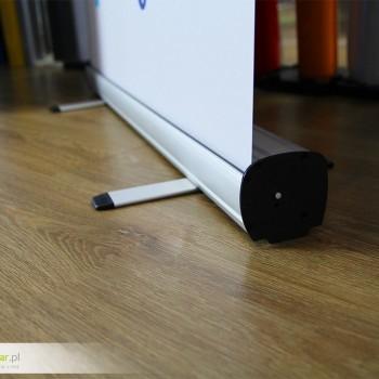 Rollup - podstawa składana czarny bok