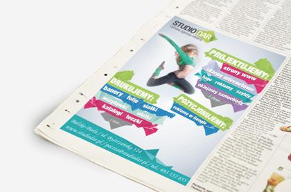 reklamy prasowe bielsko