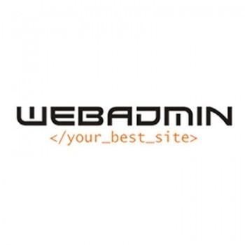 Projekt logotypu dla WebAdmin