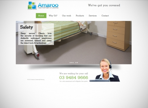 Amaroo Commercial flooring