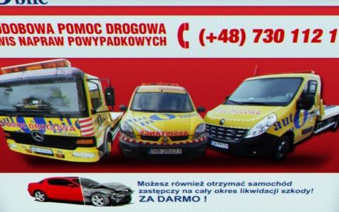 Strona dla pomocy drogowej