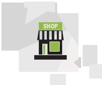 reklamy witryn i sklepów