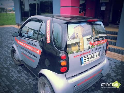 Oklejanie samochodu SMART