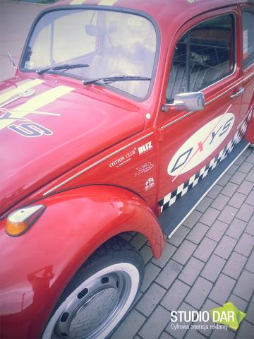 Oklejanie samochodu VW GARBUS 1200