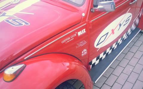 WV Garbus - oklejanie samochodów