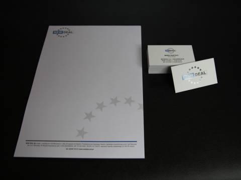 Papier firmowy i wizytówki