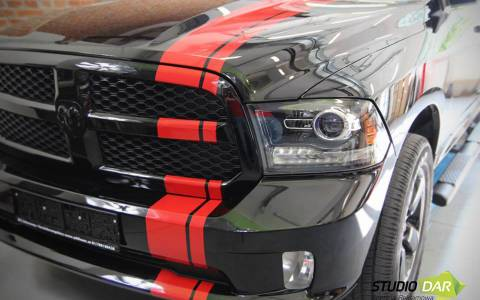 Tunning wizualny Dodge'a