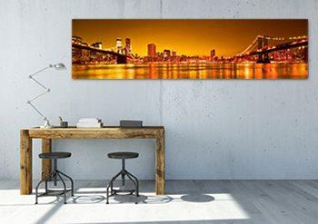 Obrazy na ścianę panorama miasta