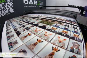 druk UV LED na płytkach ceramicznych 10x10cm - różne wzory