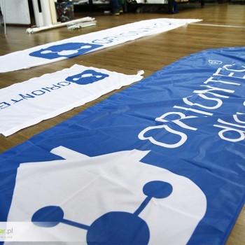 Flagi reklamowe Bielsko - Dla firmy ORIONTEC