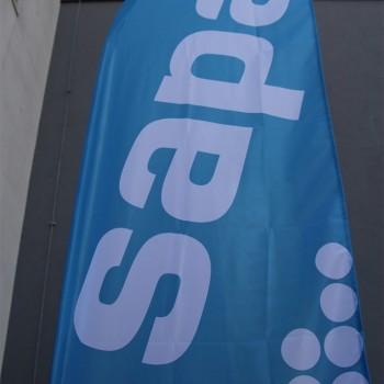 Flagi reklamowe PRZENOŚNE
