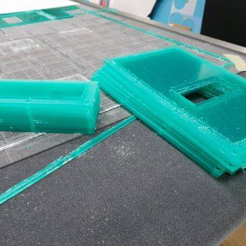 Frezowanie pleksi 4mm
