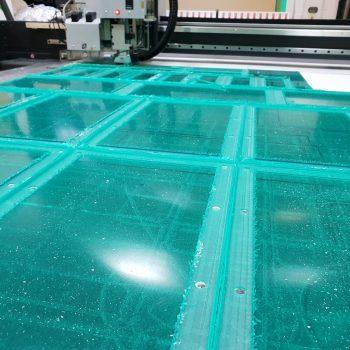 Frezowanie wiercenie plexy transparent 4mm