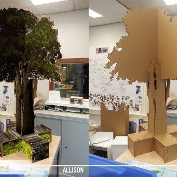 allison board drzewo