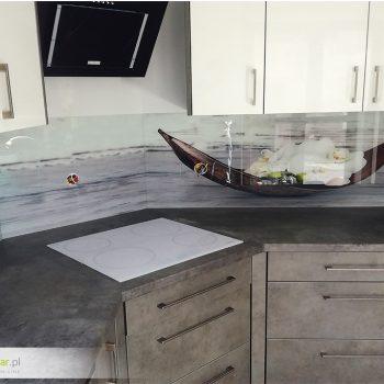 Panele szklane z nadrukiem do kuchni