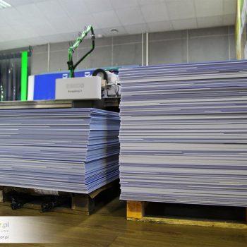 Polipropylen kanalikowy druk uv led drukarnia