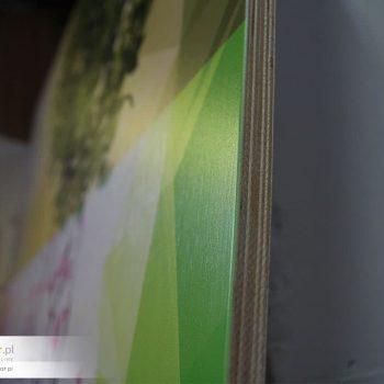 Obrazy na sklejce lakierowanej