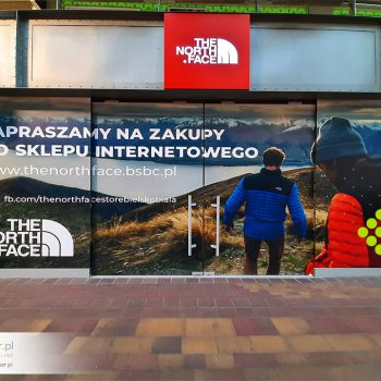 Witryna dla The North Face
