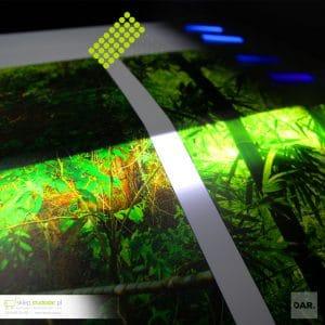 Tkaniny do podświetleń UV LED