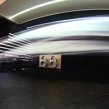 panele szklane abstrakcja czarna